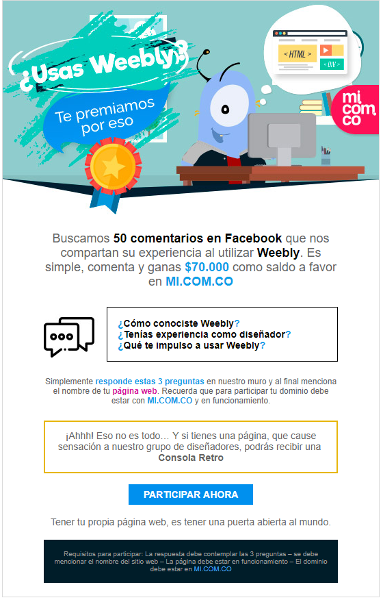Dominios Colombia